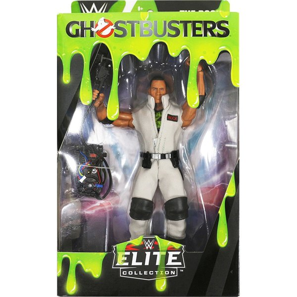 WWE Elite The Rock(ザ・ロック) Ghostbusters|bdrop