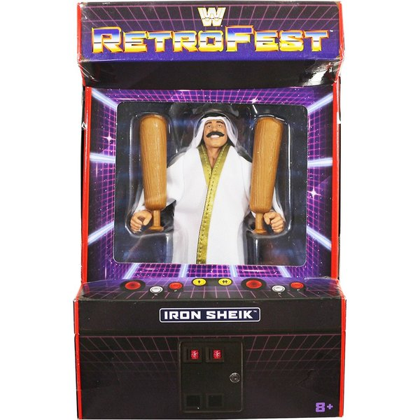 WWE Elite Retrofest Exclusive Iron Sheik(アイアン・シーク)|bdrop