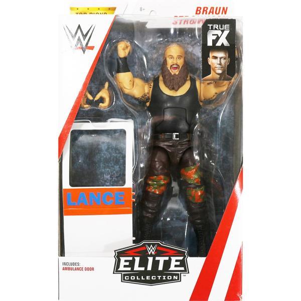 WWE Braun Strowan(ブラウン・ストローマン) Elite Top Talent 2018|bdrop