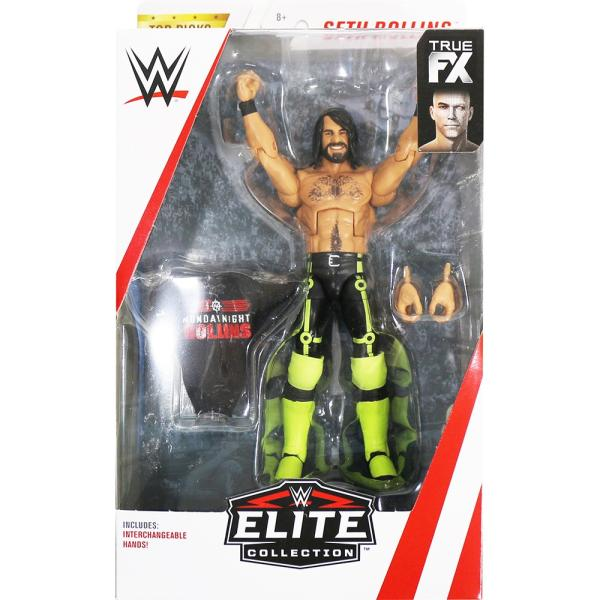 WWE Seth Rollins(セス・ローリンズ) Elite Top Talent 2019 bdrop
