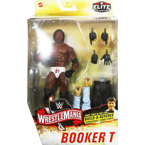 WWE Elite WrestleMania 36 Booker T(ブッカーT)|bdrop