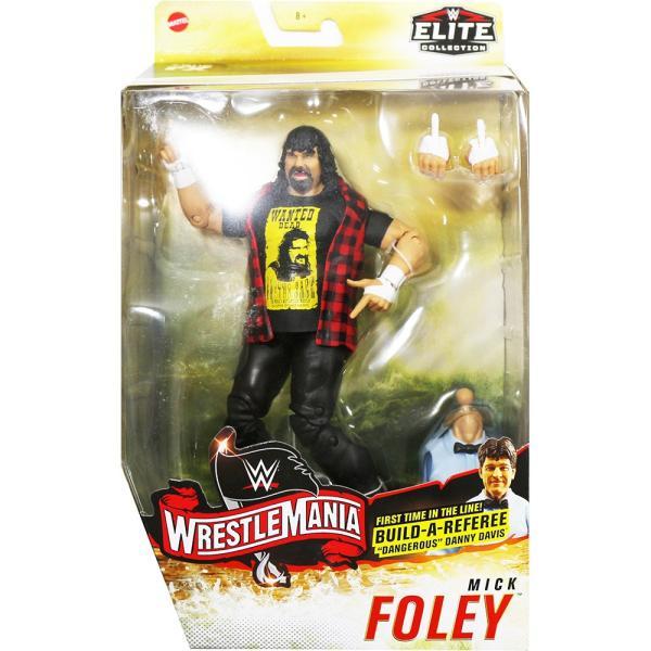 WWE Elite WrestleMania 36 Mick Foley(ミック・フォーリー)|bdrop