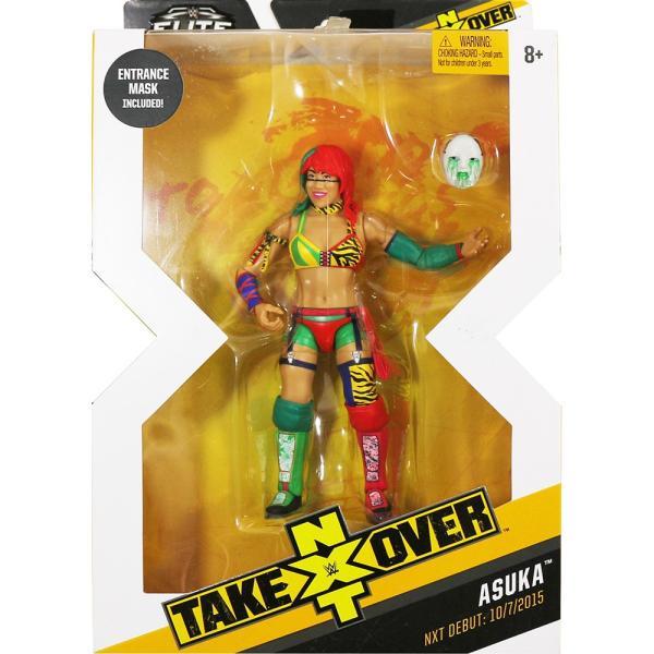 WWE NXT Takeover Elite Asuka(アスカ) bdrop