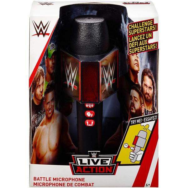 WWE Live Action Battle Microphone|bdrop|02