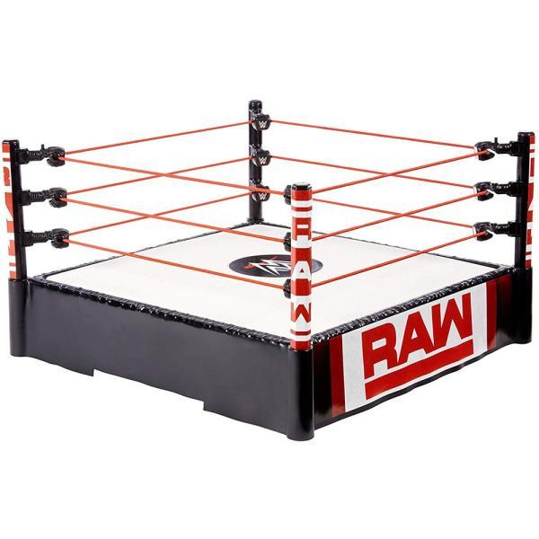 WWE Mattel Raw Superstar Wrestling Ring(スプリングマットギミック) オープンパッケージ版|bdrop|03