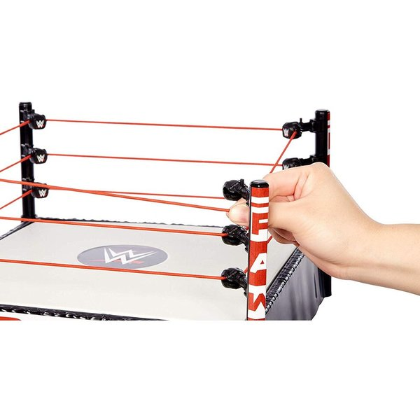 WWE Mattel Raw Superstar Wrestling Ring(スプリングマットギミック) オープンパッケージ版|bdrop|04