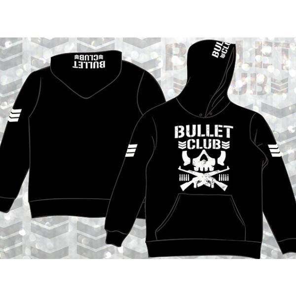 新日本プロレス NJPW BULLET CLUB(バレット・クラブ) プルオーバーパーカー|bdrop|03