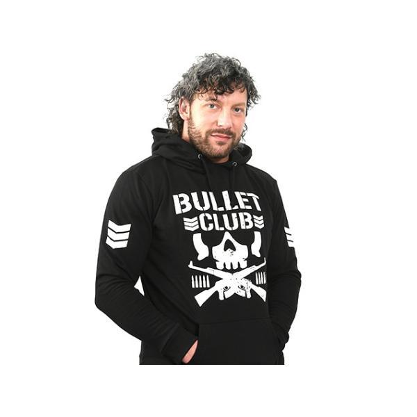 新日本プロレス NJPW BULLET CLUB(バレット・クラブ) プルオーバーパーカー|bdrop|04