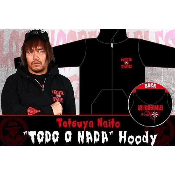 新日本プロレス NJPW 内藤哲也「TODO O NADA」パーカー|bdrop|03