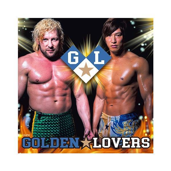 ミニポートレート付き(非売品): 新日本プロレス/NJPW CD「ゴールデン☆ラヴァーズ」|bdrop