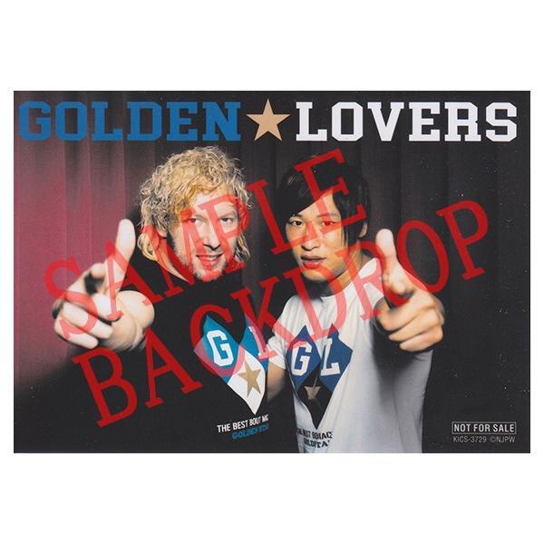 ミニポートレート付き(非売品): 新日本プロレス/NJPW CD「ゴールデン☆ラヴァーズ」|bdrop|02