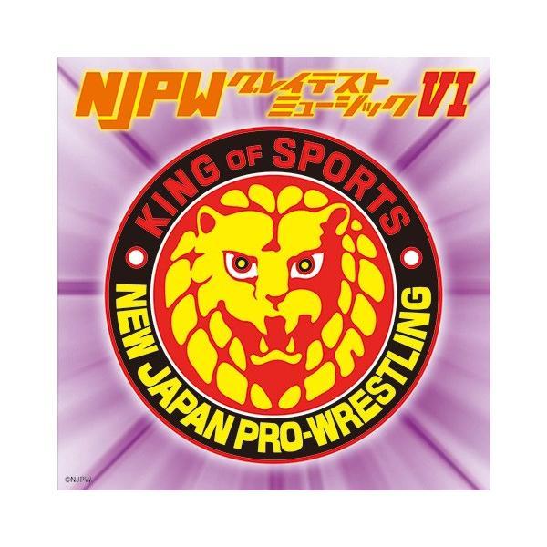 新日本プロレス NJPW グレイテストミュージックVI (Vol.6) CD bdrop