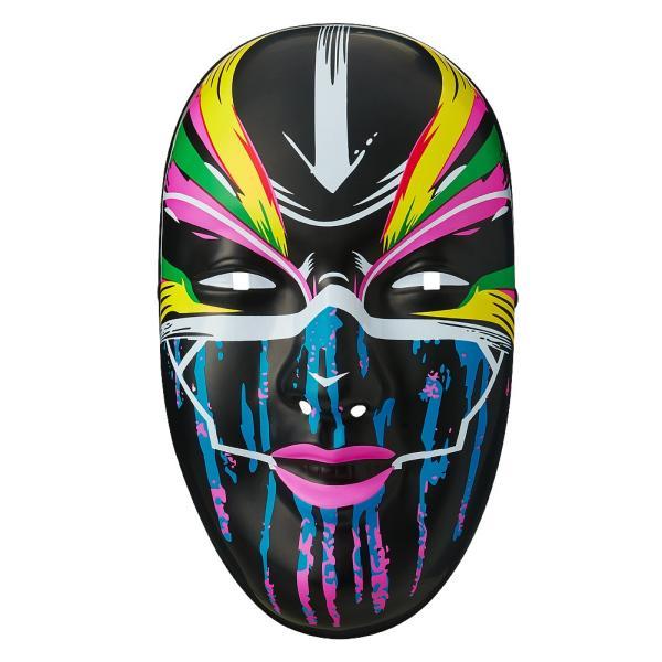 WWE Asuka(アスカ) The Empress ブラック プラスチックマスク|bdrop