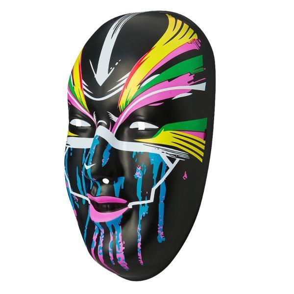 WWE Asuka(アスカ) The Empress ブラック プラスチックマスク|bdrop|02
