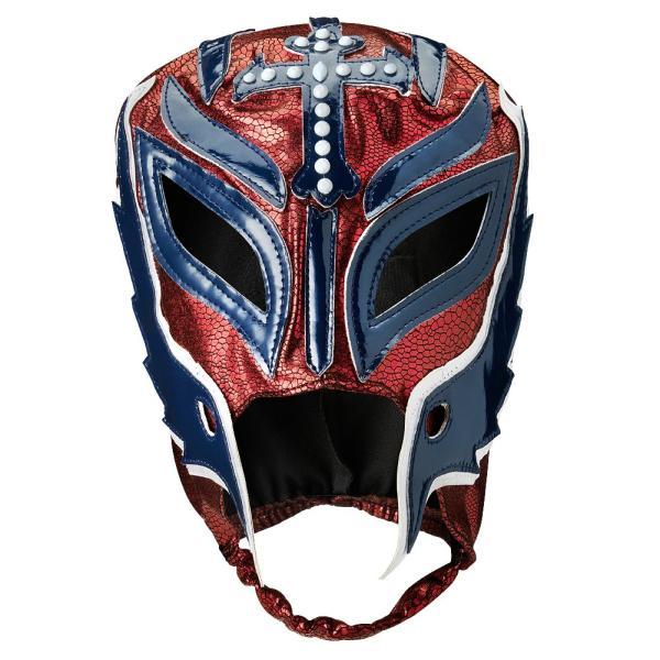 WWE Rey Mysterio(レイ・ミステリオ) Royal Rumble 2019 Maroon/Blue レプリカマスク|bdrop