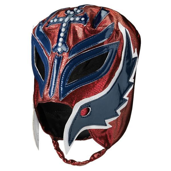 WWE Rey Mysterio(レイ・ミステリオ) Royal Rumble 2019 Maroon/Blue レプリカマスク|bdrop|02