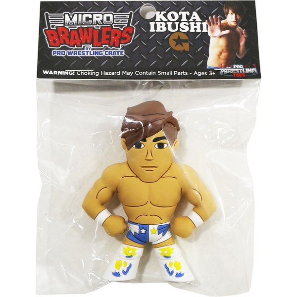 新日本プロレス NJPW 飯伏幸太 Micro Brawlers ミニフィギュア bdrop