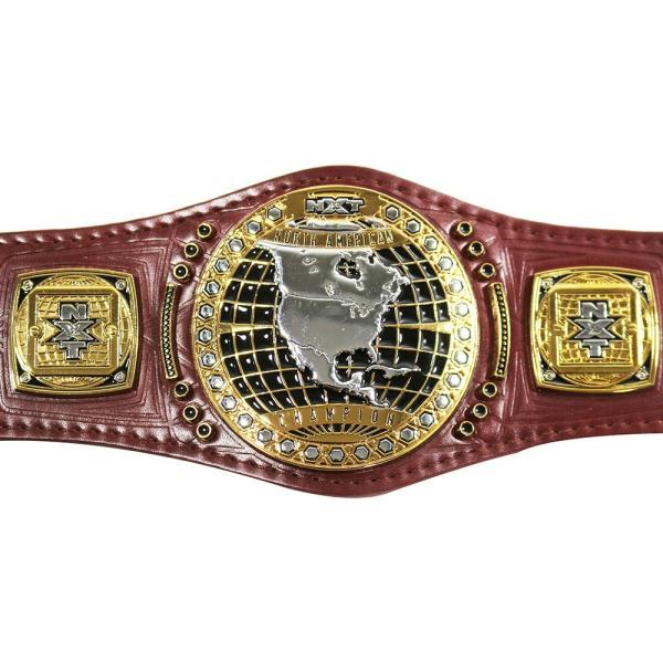WWE NXT 北米王座 レプリカミニチャンピオンベルト|bdrop|02