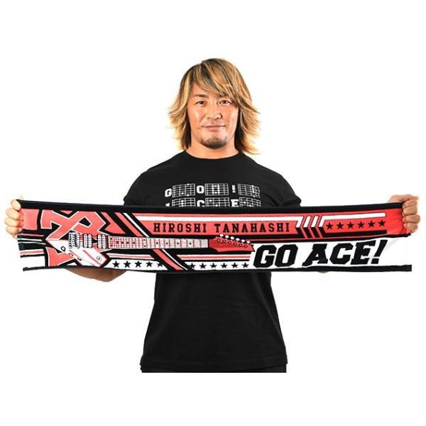 新日本プロレス NJPW 棚橋弘至「GO ACE」マフラータオル|bdrop|02