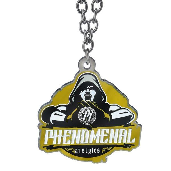 WWE AJ Styles(AJスタイルズ) Phenomenal ブラック/ゴールドペンダント|bdrop