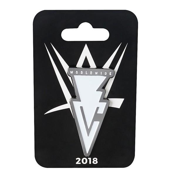 wwe finn balor フィン ベイラー 2018 logo ピンバッジ pin fbal