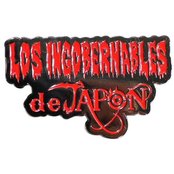 お1人様3個まで:新日本プロレス NJPW 内藤哲也 ロス・インゴベルナブレス・デ・ハポン(Red) ピンバッジ|bdrop