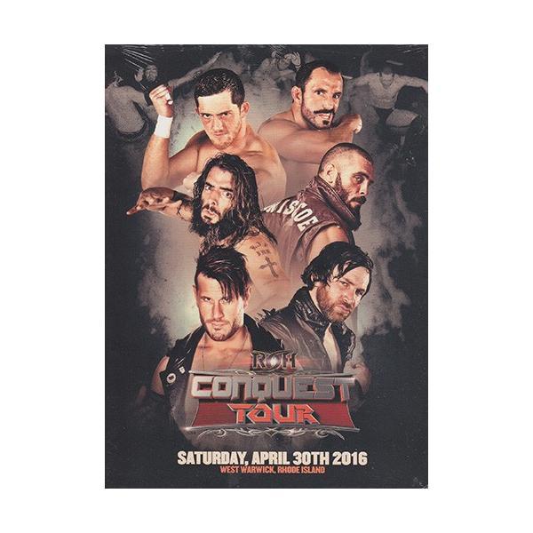 ROH CONQUEST TOUR - West Warwick RI 輸入DVD|bdrop
