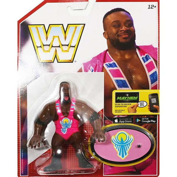 WWE Mattel Retro Series 5 Big E(ビッグE)fig180606|bdrop