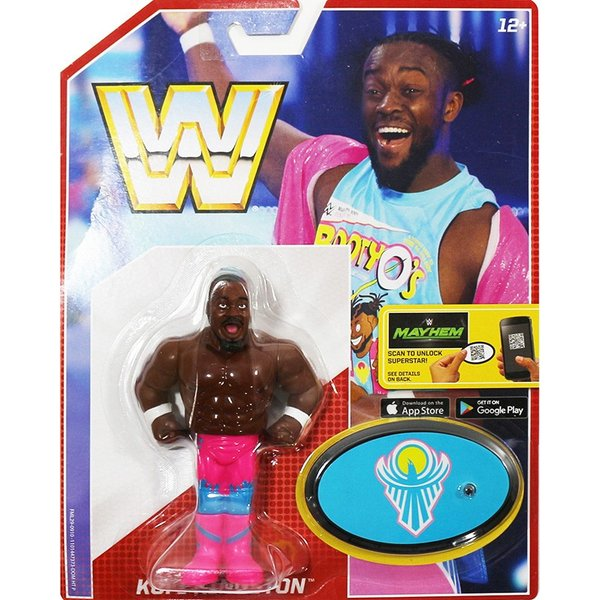 WWE Mattel Retro Series 5 Kofi Kingston(コフィ・キングストン)fig180606|bdrop