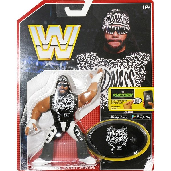 WWE Mattel Retro Series 5 Randy Savage(ランディ・サベージ)fig180606|bdrop
