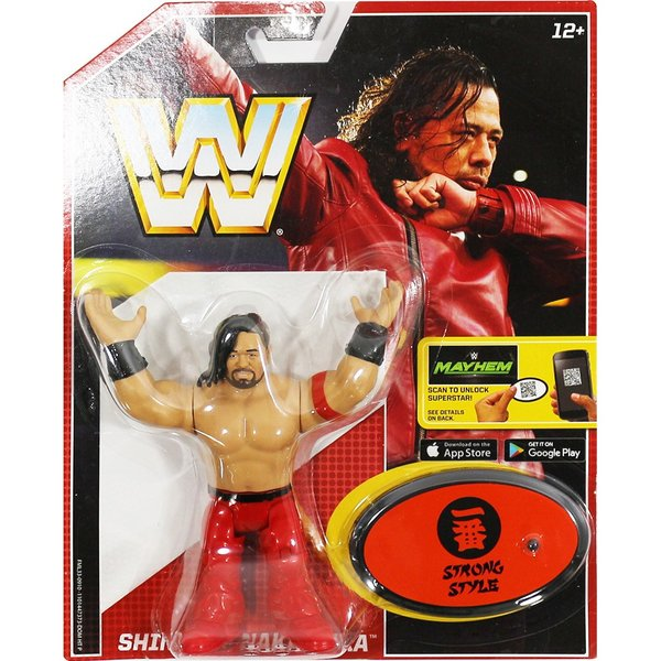 WWE Mattel Retro Series 6 Shinsuke Nakamura(中邑真輔)|bdrop