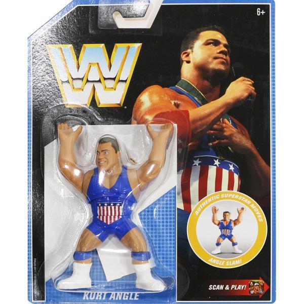 WWE Mattel Retro Series 7 Kurt Angle(カート・アングル)|bdrop