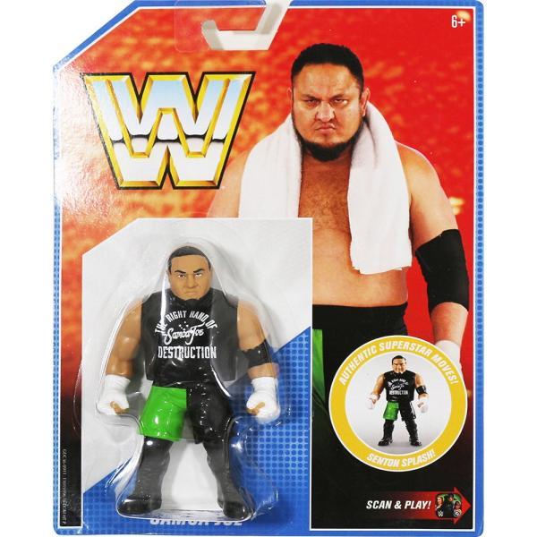 WWE Mattel Retro Series 9 Samoa Joe(サモア・ジョー)|bdrop