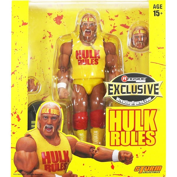 WWE Hulk Rules Hulk Hogan(ハルク・ホーガン) 1 of 3000 Ringside Exclusive|bdrop