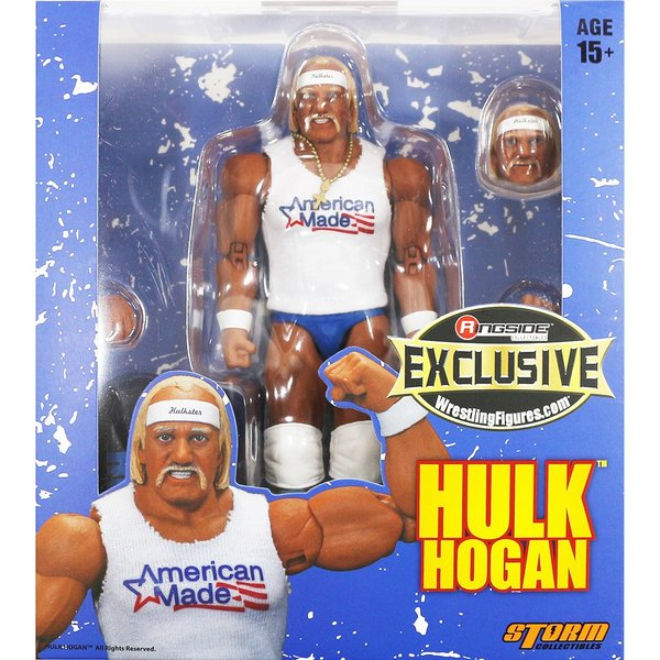 WWE Hulk Hogan(ハルク・ホーガン) 1 of 1000 Blue Trunks Ringside Exclusive bdrop