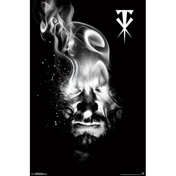 WWE Undertaker(アンダーテイカー) Smoke ポスター|bdrop