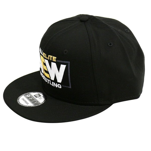 AEW Logo スナップバックキャップ 帽子|bdrop|02