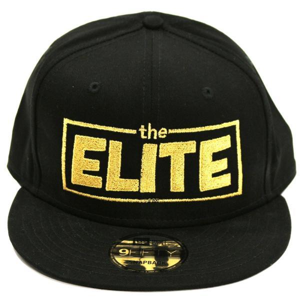 お1人様2つまで:新日本プロレス NJPW Golden Elite(ゴールデンエリート) スナップバックキャップ 帽子|bdrop