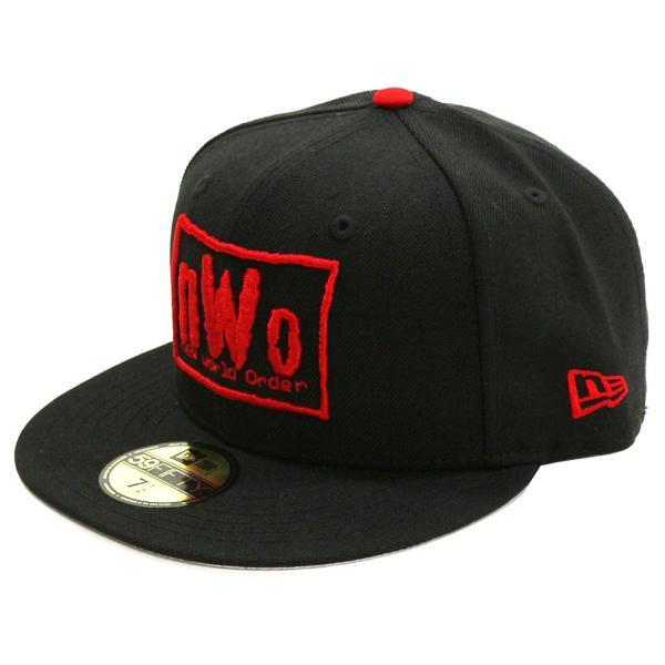 WWE nWo New Era 59Fifty フィッテドハット/帽子|bdrop