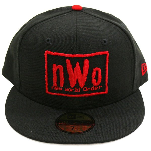 WWE nWo New Era 59Fifty フィッテドハット/帽子|bdrop|02