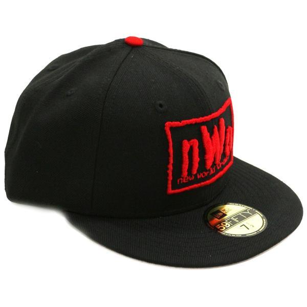 WWE nWo New Era 59Fifty フィッテドハット/帽子|bdrop|03
