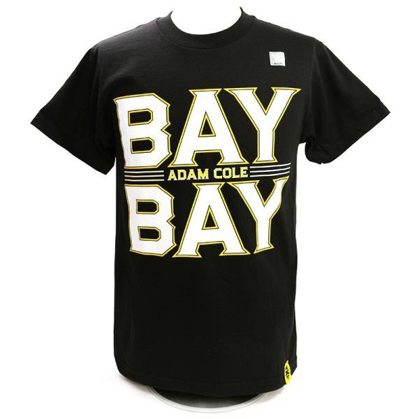 WWE Adam Cole(アダム・コール) Bay Bay ブラックTシャツ|bdrop
