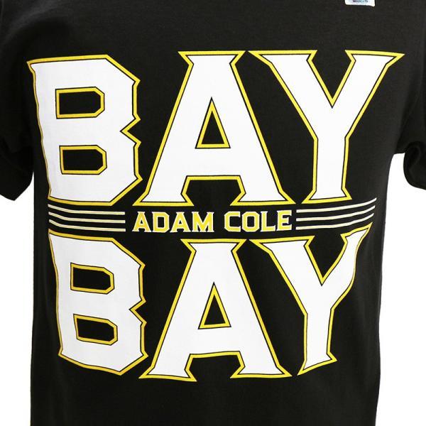WWE Adam Cole(アダム・コール) Bay Bay ブラックTシャツ|bdrop|02