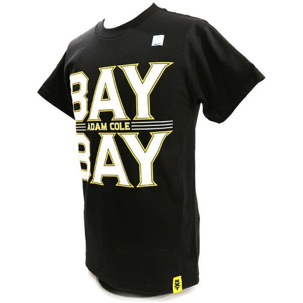 WWE Adam Cole(アダム・コール) Bay Bay ブラックTシャツ|bdrop|03