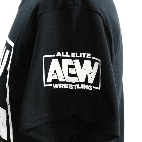 AEW Chris Jericho(クリス・ジェリコ) AEW is JERICHO ブラックTシャツ bdrop 04