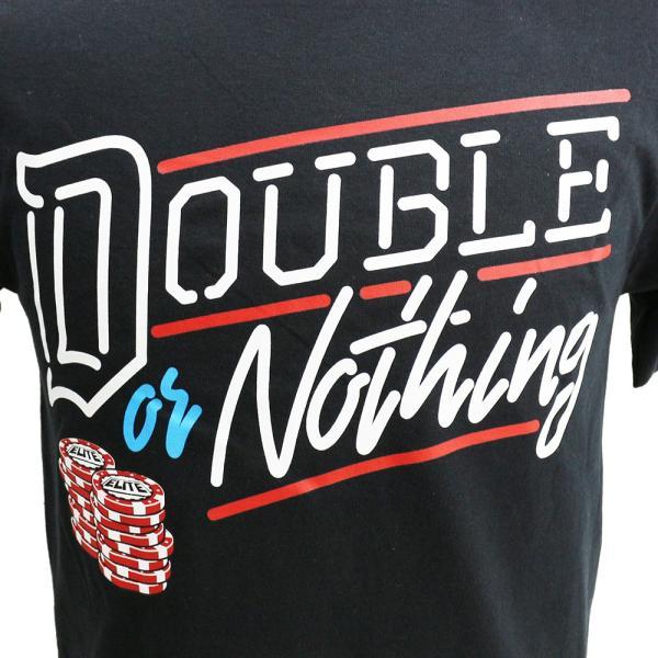 AEW Double or Nothing ブラックTシャツ|bdrop|02