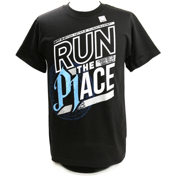 WWE AJ Styles(AJスタイルズ) Run The Place ブラックTシャツ bdrop