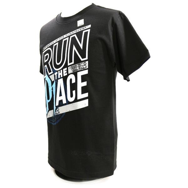 WWE AJ Styles(AJスタイルズ) Run The Place ブラックTシャツ bdrop 03