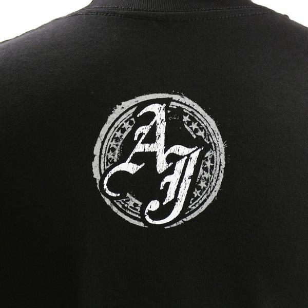 WWE AJ Styles(AJスタイルズ) Run The Place ブラックTシャツ bdrop 05
