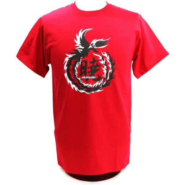 Tシャツ DRAGON GATE 暁-AKATSUKI-/鷹木信悟 Logo レッド|bdrop